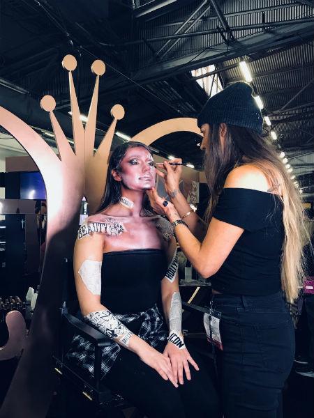 IMATS make-up artistry
